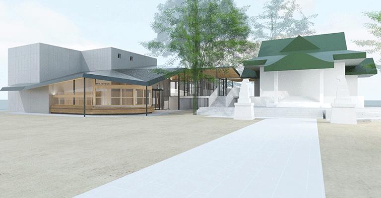 亀有香取神社鎮座740年記念事業、完成イメージ